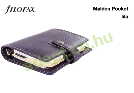 filofax malden pocket lila